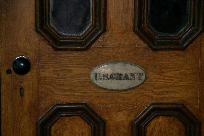 Ulysses' doorplate