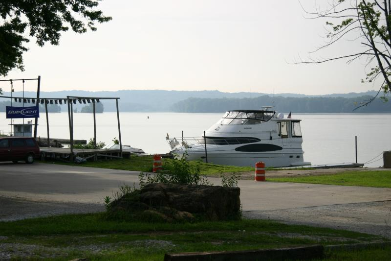 Docked at Fairport Landing